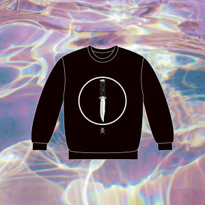 【NEW】PLASTICZOOMS KNIFE SWEATSHIRT