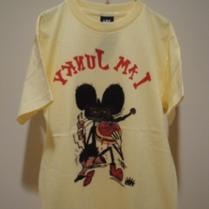 """LAF/ラフ   【超特価SALE!!! 50%OFF】 """" JUNKY """" T-Shirt / Lt.Yellow"""