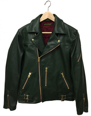 LONDON CLASSICS RIDERS JACKET(Dark Green)