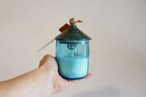 New House Soy Candle(Blue-Ssize)