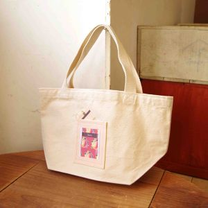 Tea Bag Tote ピーチ