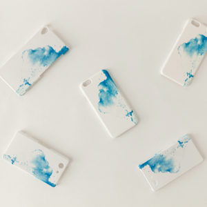 iPhone/Galaxy/Xperia Case「青い、雲」