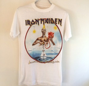 80s vintage IRON MAIDEN T-shirts
