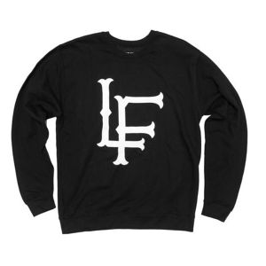 LIVE FIT LF Crewneck - Black
