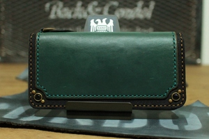 """CHROMEXCEL Wallet""  Long,Blue,type4"