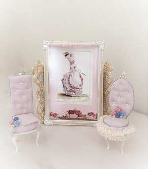 Princess  Charm  Chair           Flower  Princes               プリンセスチャームチェア                   フラワー プリンセス      (ピンク)