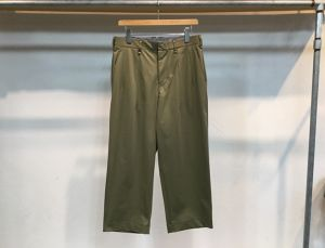 "CURLY""ADVANCE WIDE TROUSERS OLIVE"""