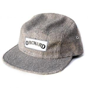 ORCHARD TEXT LOGO 5 PANEL CAMPER DUSTY TWEED