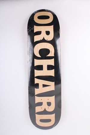 ORCHRAD P.POINT TEXT LOGO BLACK DECK
