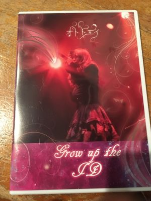 ライブDVD「Grow up the ID」Specialブックレット付【TSDV-002】