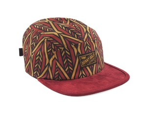 BENNY GOLD ARROW PATTERN 5PANEL RED