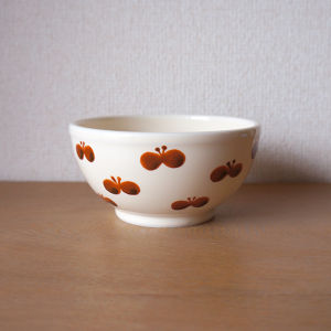 butterfly bowl ( brown )