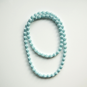 PURE PLEATS _ NECKLACE _ 小粒(LIGHT BLUE)