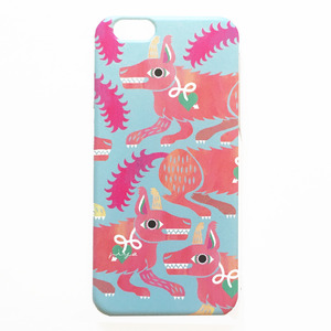 iphone6 / 6s用ケース WOLF【PINK】