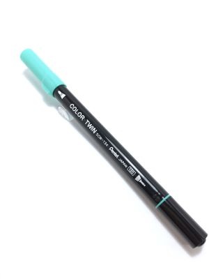Pentel COLOR TWIN EmeraldGreen