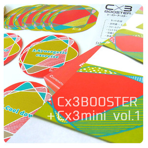 Cx3BOOSTER日本語版 vol.1+Cx3mini vol.1