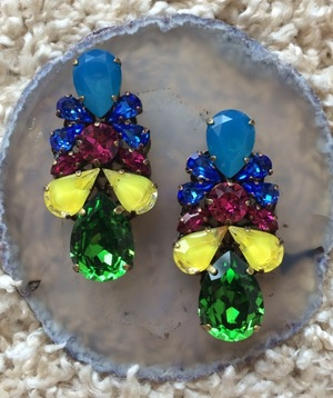 Swarovski pierce earring 1426-36