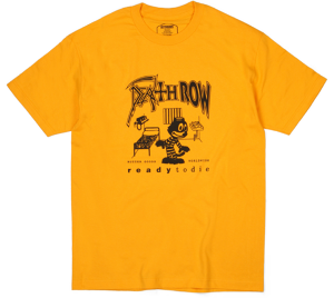BUTTER GOODS DEATHROW S/S TEE GOLD サイズM