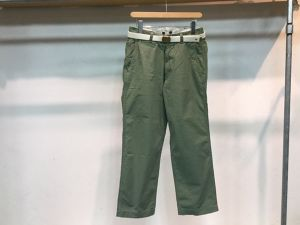 "MASTER&CO""WIDE CHINO PANTS KHAKI"""