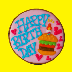 birthday cookie(hamburger)