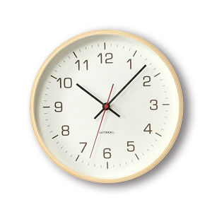 KATOMOKU plywood wall clock 4 km-44N