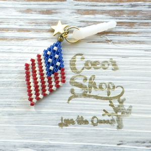◆SALE ¥300 OFF◆ Earphone Jack -Aamericanflag-