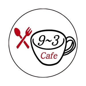 【ALL】矢神久美プロデュース 9~3cafe缶バッチ ロゴtype