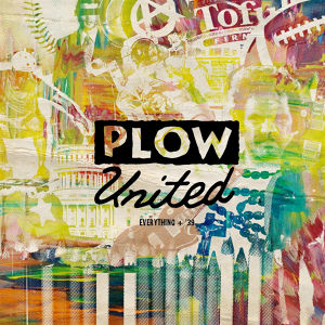 """plow united / everything 7"""" on RED vinyl"""