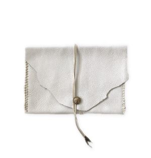 Concho clutch bag (white)