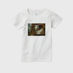 レディースTシャツ(The meeting of Antony and Cleopatra)