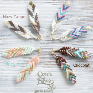 Native American Feathers  Pierce/Earrings