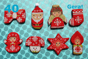 No.40 Christmas Mini Ornaments