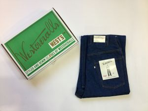 "WESTOVERALLS""806T TAPERED DENIM PANTS ONEWASH"""