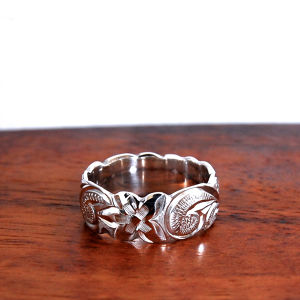 Hawaiian Jewelry Silver 925 8mm幅RING