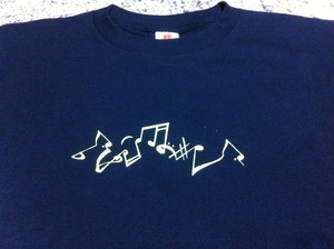 Music notation t shirt