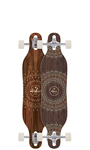 【Arbor Skateboard】Axis 37 Solstice ロンスケコンプリート