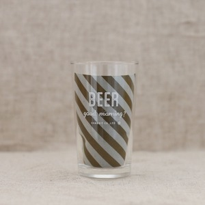 BEER(GOODMORNING)glass