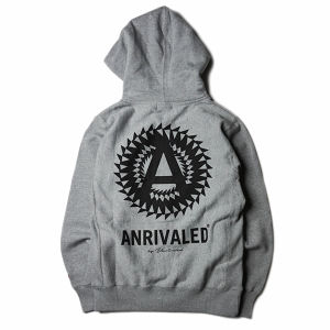 "ANRIVALED by UNRIVALED ""CA-ZIP PARKA"" GRAY"