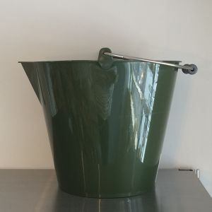 soft bucket 14L green