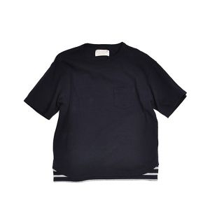 Kelen / ケレン | 【 SALE!! 30%OFF 】 BIG TEE - FAKE LAYERD CUT & SEWN  'GAULLE'