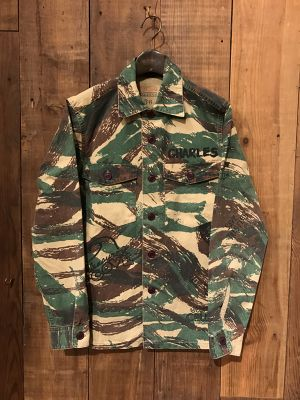 SALTWATER COWBOY(SUNNY SPORTS)『CAMOUFLAGE MILITARY JACKET』(SC14F03800)