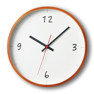 KATOMOKU plywood wall clock 6 km-52LB