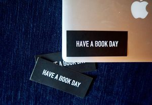 HAVE A BOOK DAYオリジナルステッカー3点セット
