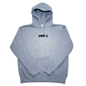 WILL JET LOGO PULLOVER HOODIE (HEATHER GREY)