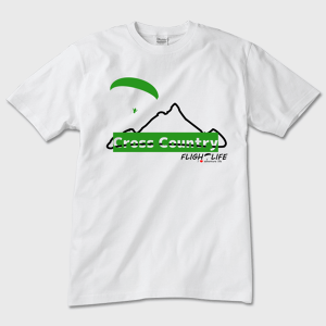 Crosscountry:Tシャツ 白(前面)トナー