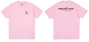 BUTTER GOODS  GOOD DAY S/S TEE PINK サイズM