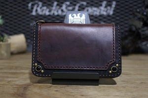 """CHROMEXCEL Wallet"" Midlle,Brown,type3"