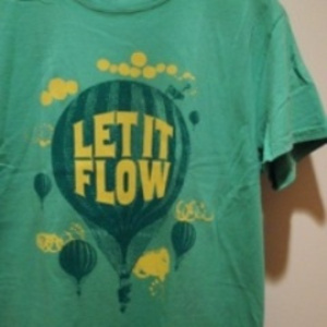 "2K BY GINGHAM/ツーケイバイギンガム | 【超特価SALE!!! 50%OFF】 "" LET IT FLOW "" T-Shirt"