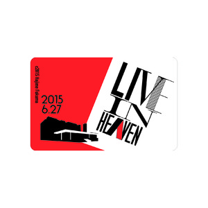 【LIVE IN HEAVEN】ICカードステッカー