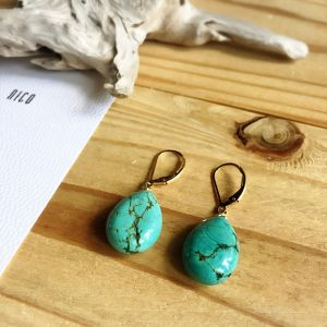 【14kgf】Turquoise01~サーフィン&ビーチピアス~